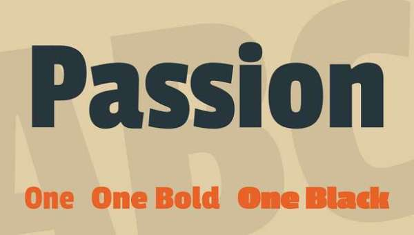 Passion One Font