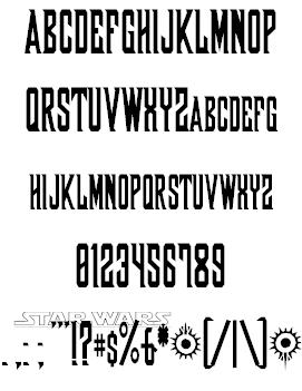 Shadow of Xizor font 2