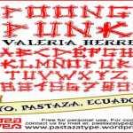 Spoonge Punk font