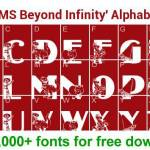 LMS Beyond Infinity font