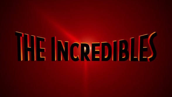 the Incredibles font - Dafont Free