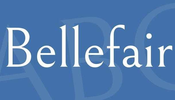 Bellefair Font