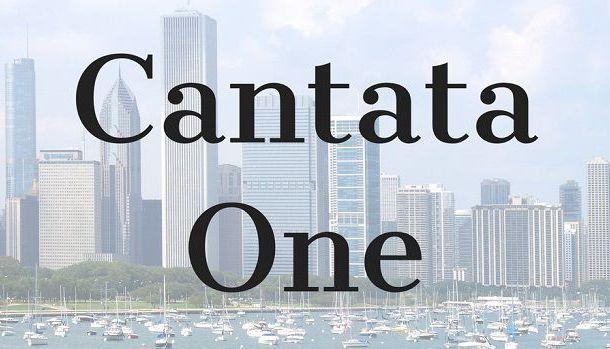 Cantata One Font
