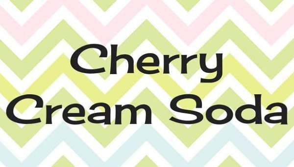Cherry Cream Soda Font