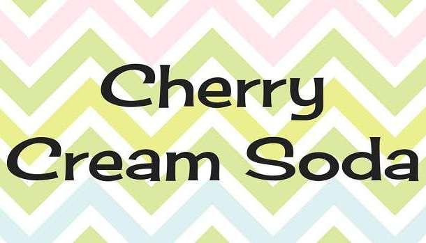 Cherry Cream Soda Font