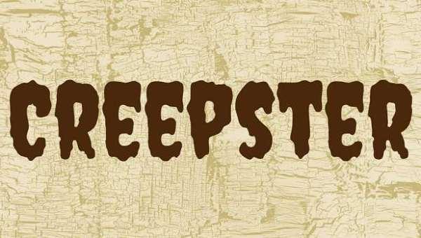 Creepster Font