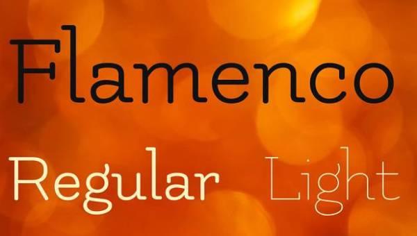 Flamenco Font Family