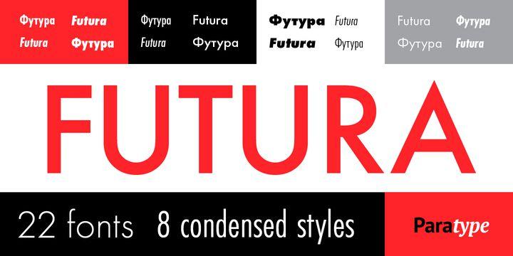 Futura PT Font - Dafont Free