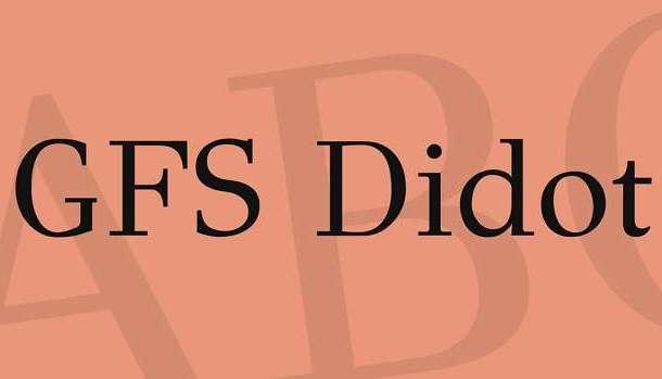 GFS Didot Font