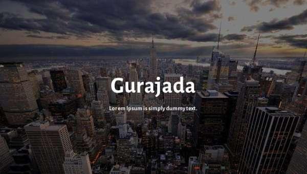 Gurajada Font