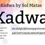 Kadwa Font