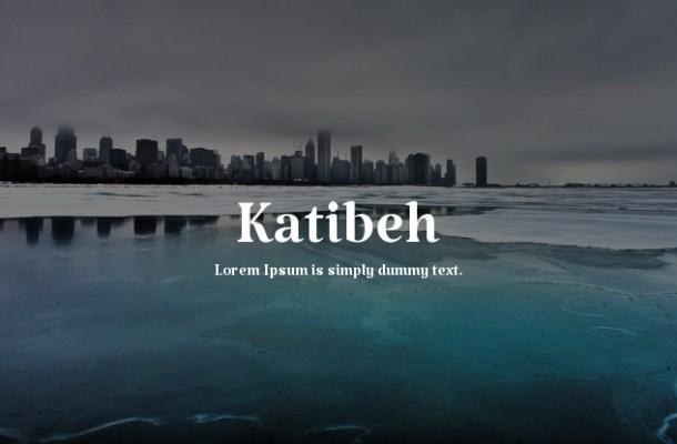 Katibeh Font