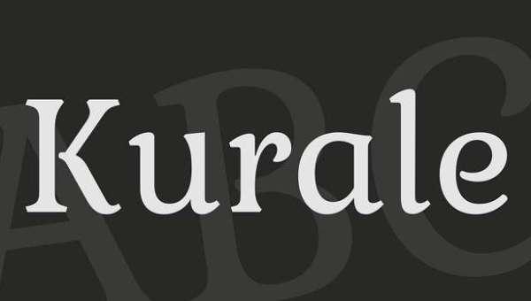 Kurale Font