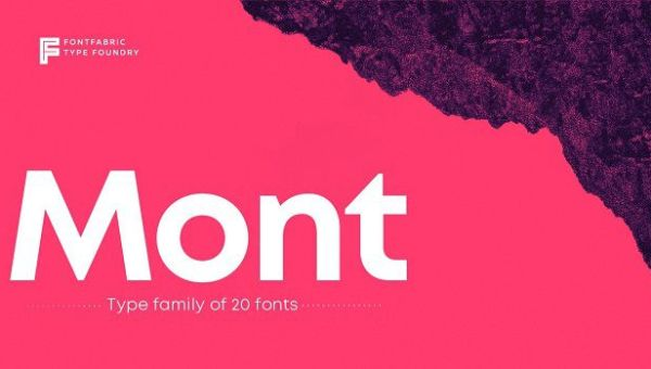 Mont Font Family