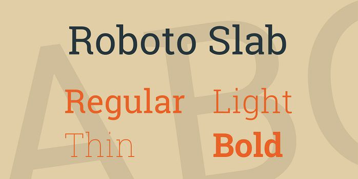Roboto light font for windows