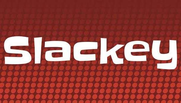 Slackey Font