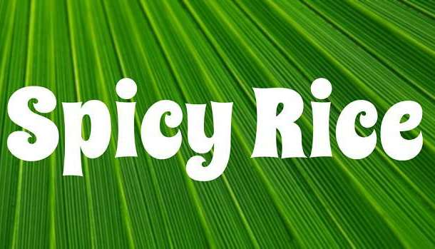 Spicy Rice Font