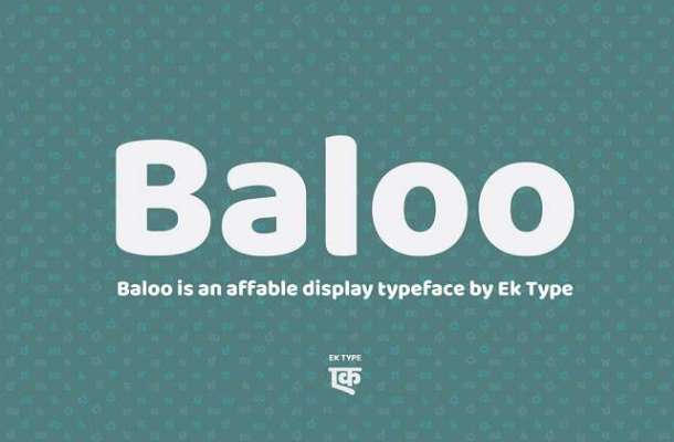 Baloo Font