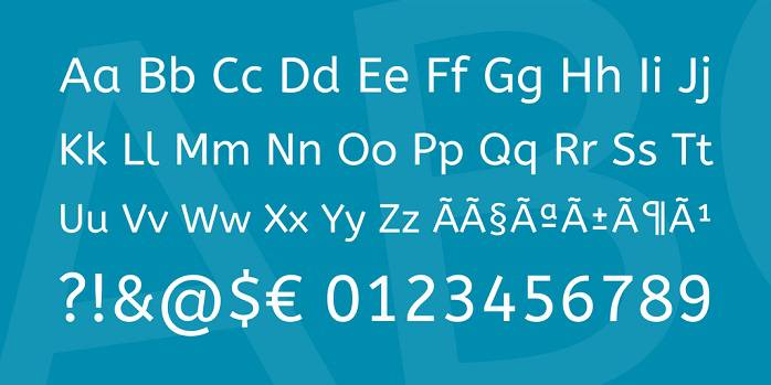 ABeeZee Font Family-1