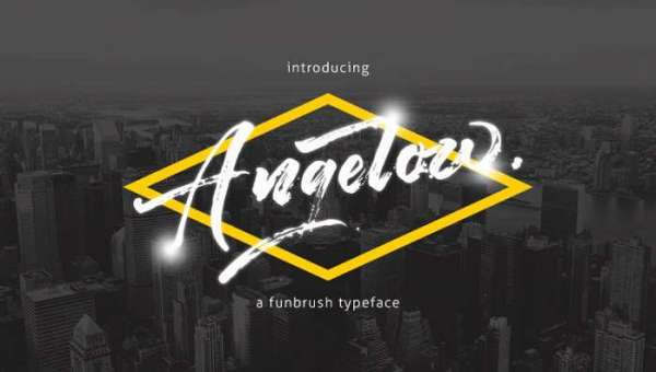 Angelow Font