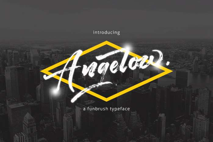 Angelow Font