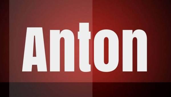 Anton Font Family