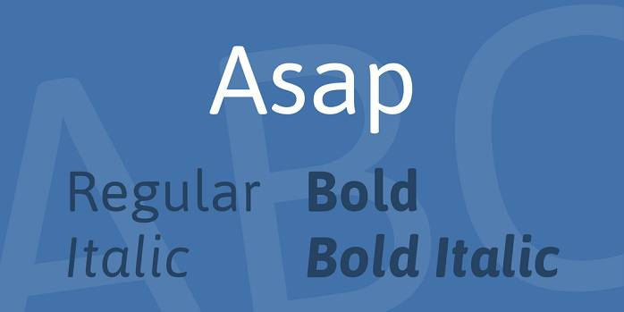 Asap Font Family_compressed