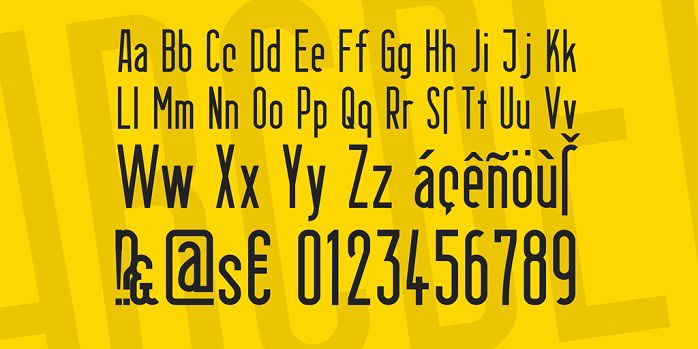 Berlin Email Font Family-1