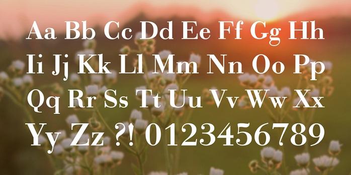 Bodonio Font-1