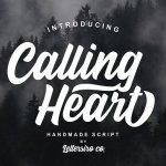 Calling Heart Font