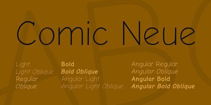 Comic Neue Font Family - Dafont Free