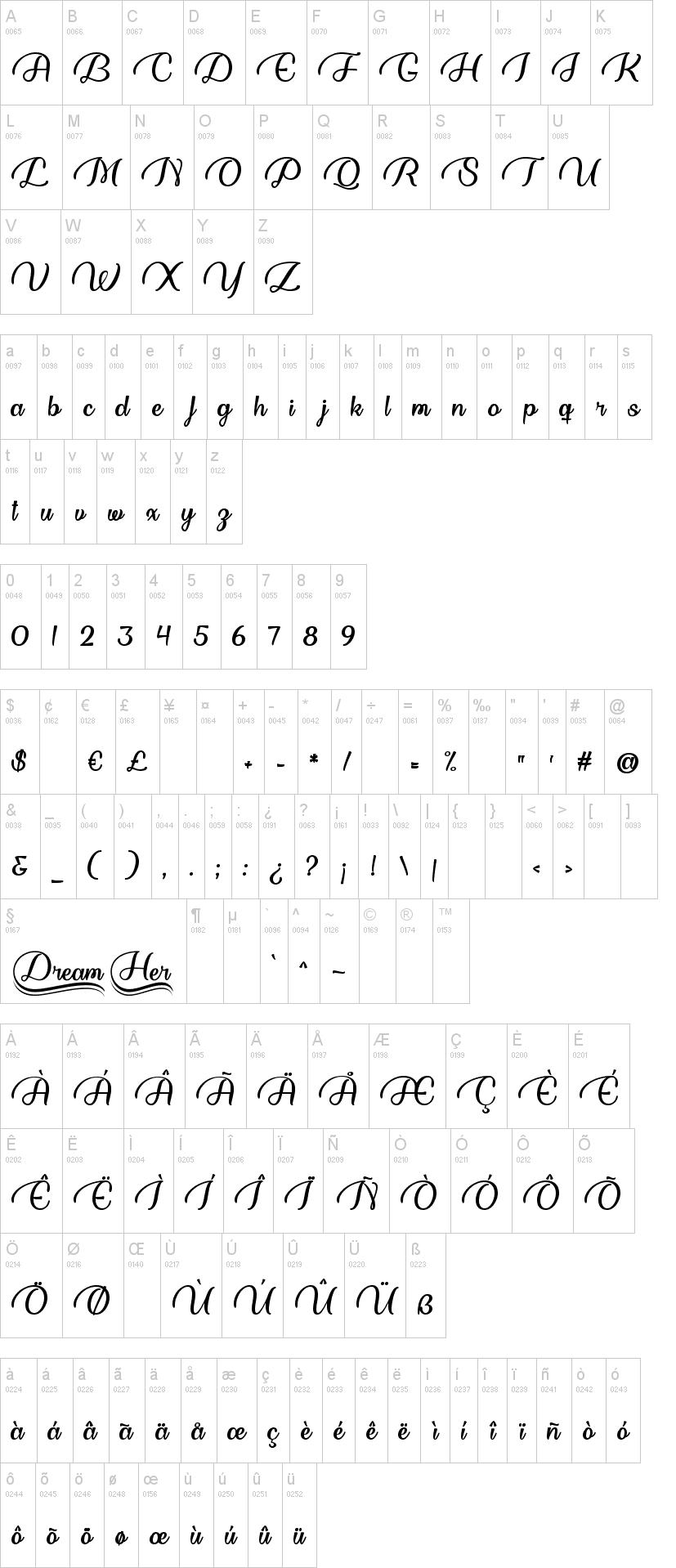Dream Her Font-1