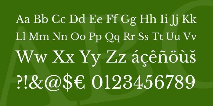 Libre Baskerville Font Family-1