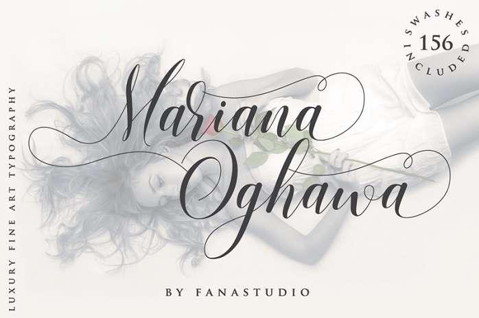 Mariana Oghawa Font
