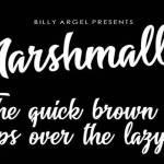 Marshmallow Font