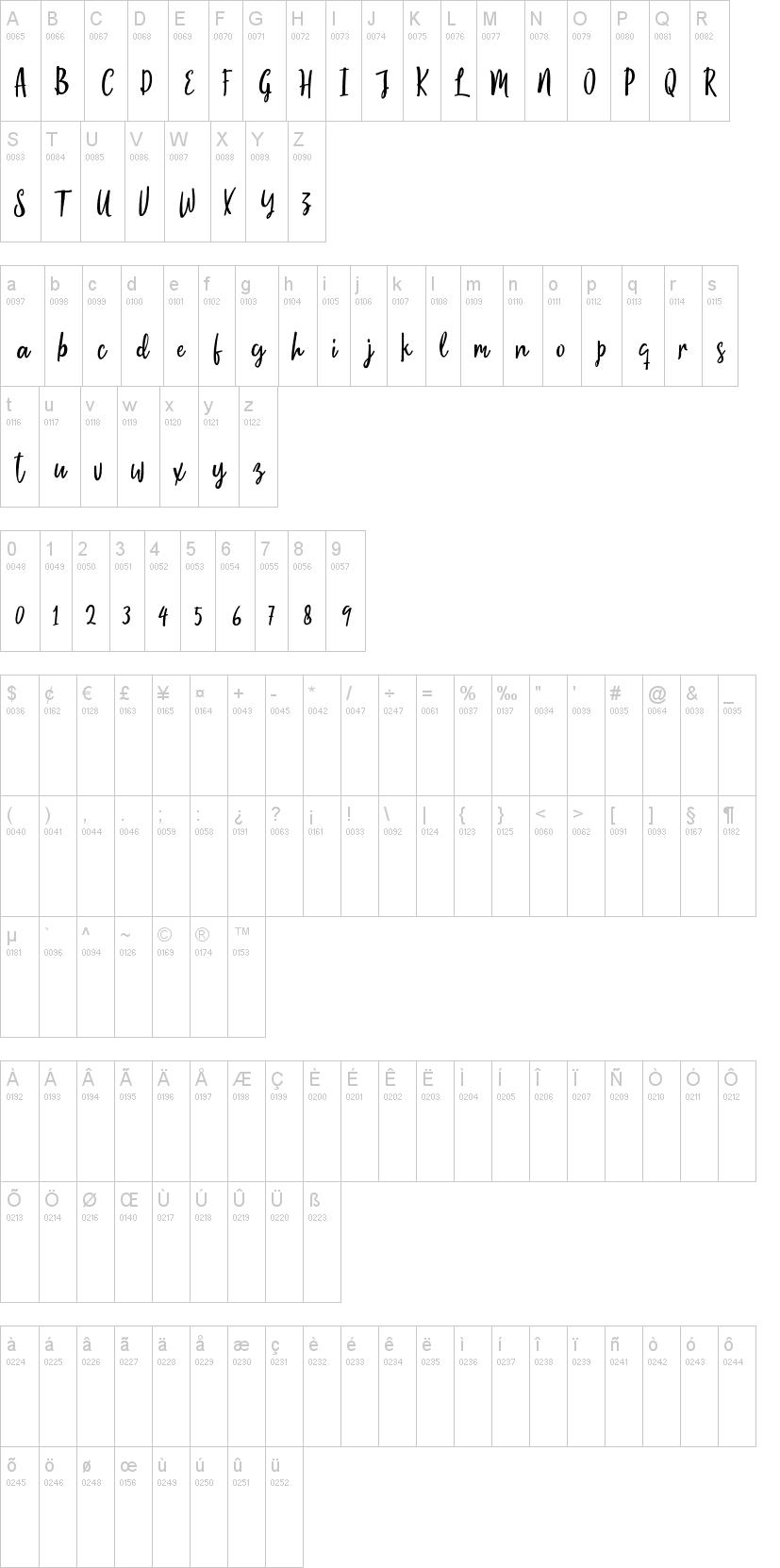 Moontello Font-1