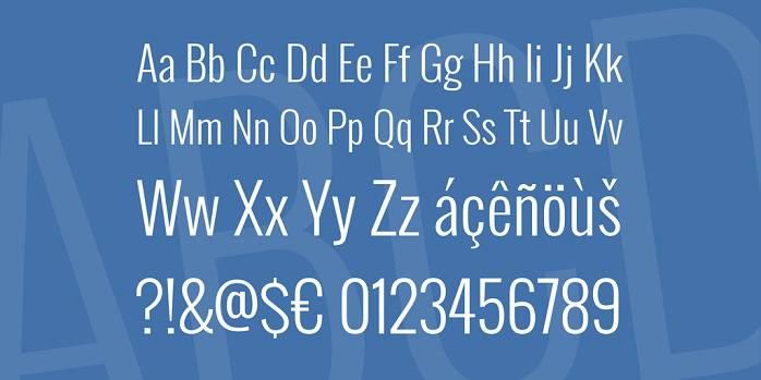 Oswald font-1