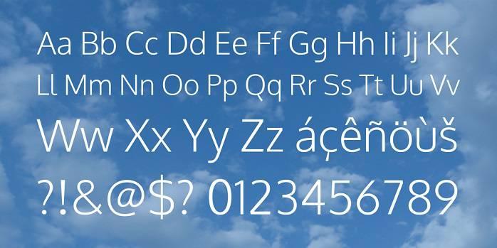 Oxygen Font Family-1