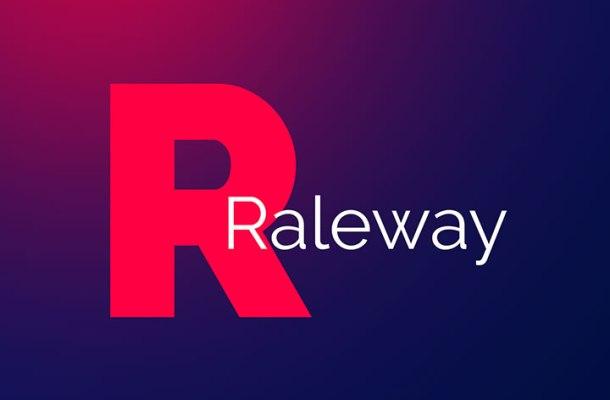 Raleway Font Family