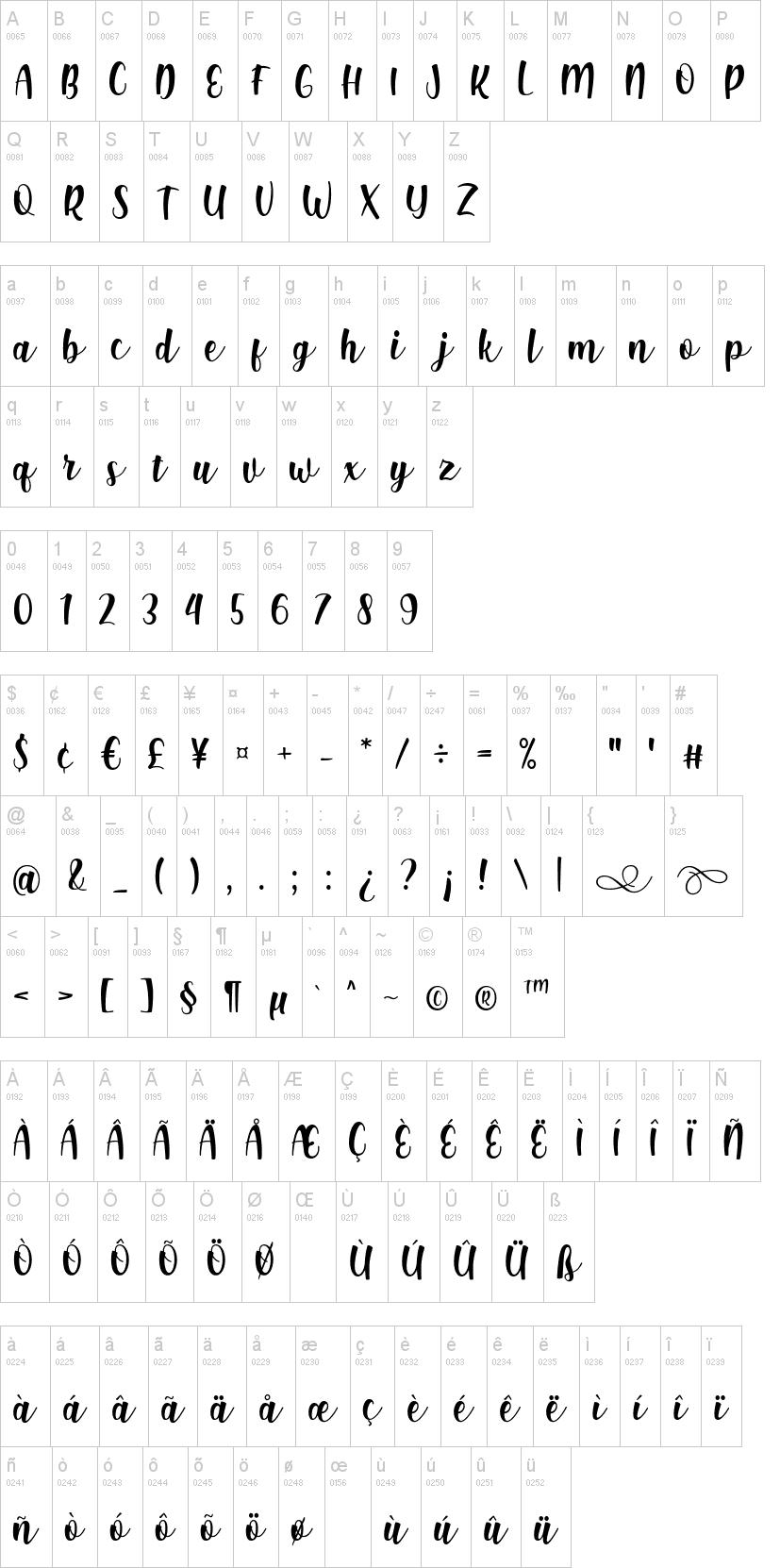Shink Font-2