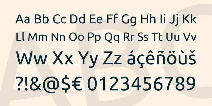 Ubuntu Font Family - Dafont Free
