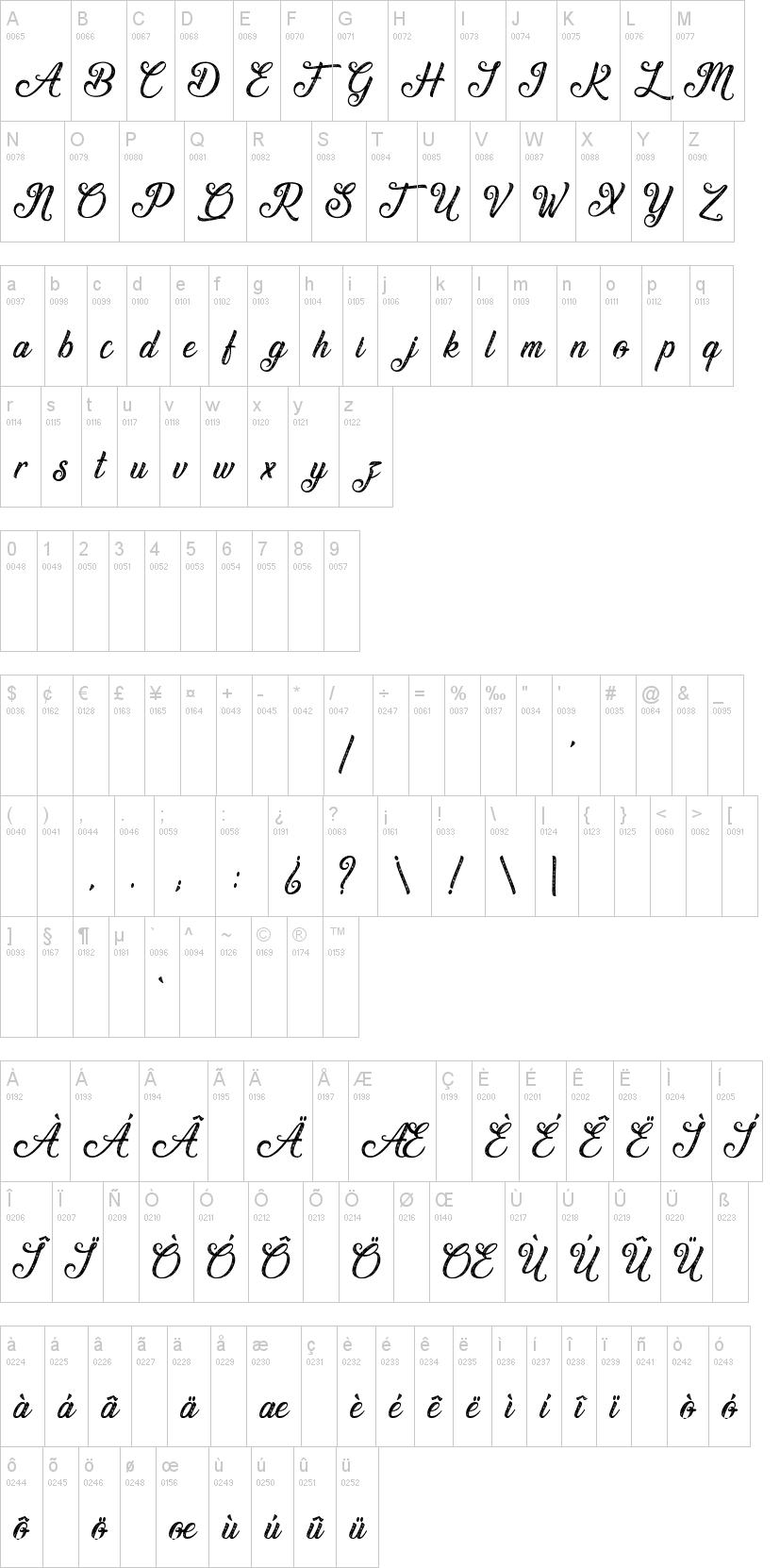 Waving at Christmas Font-1
