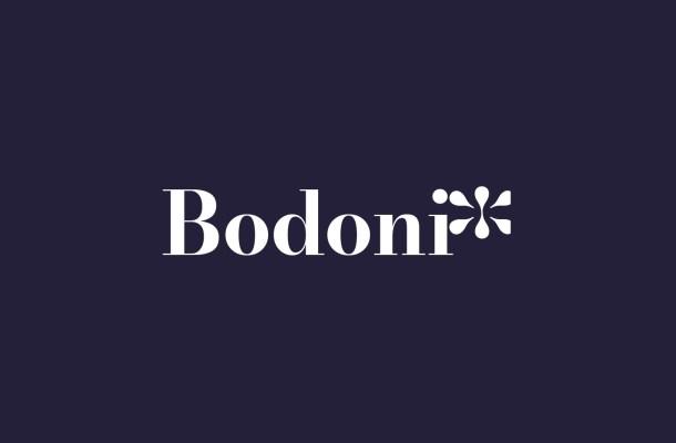 Bodonio Serif Font Family