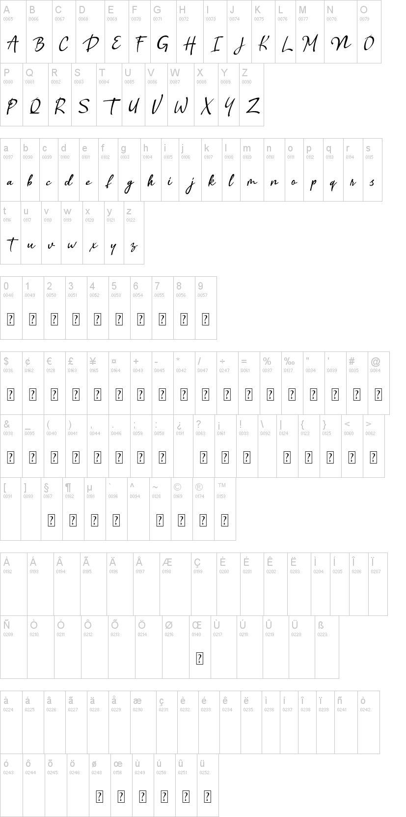 Benthol Font-1