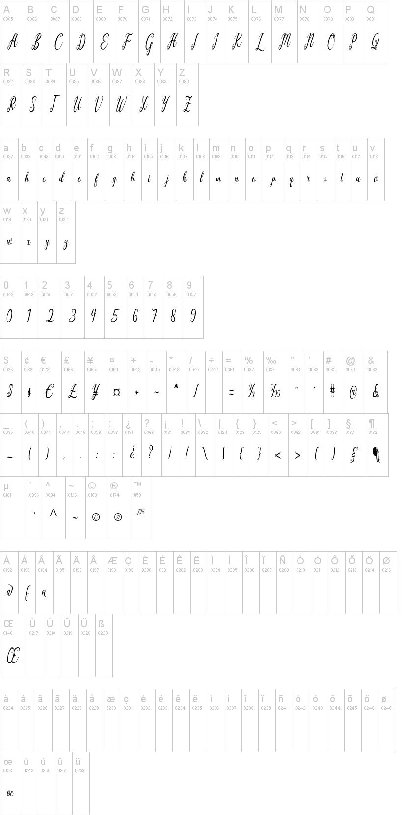 California Script Font-1