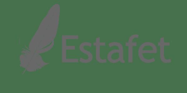 Estafet Letter Script Font