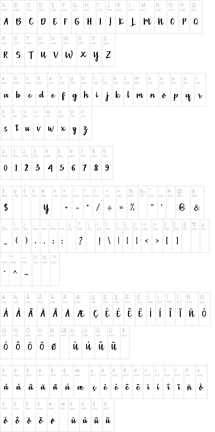 Gethania Font-1