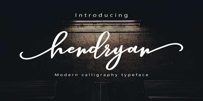 Hendryan Font