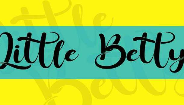 Little Betty Font