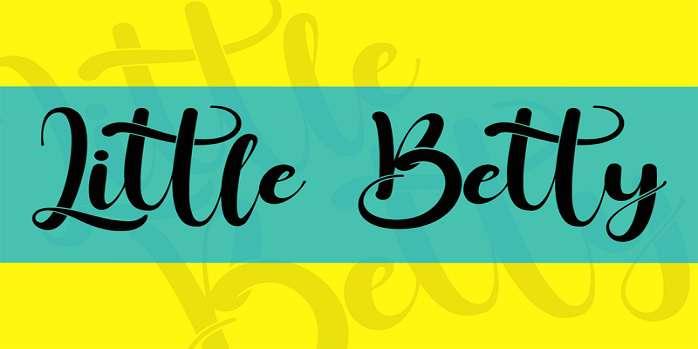 Little Betty Font